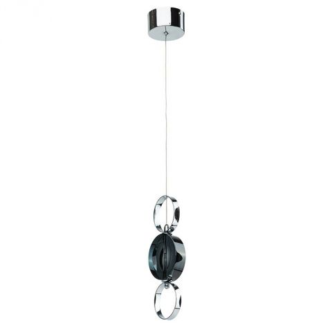 "Lampe Suspension Métal ""Circle"" Argent"