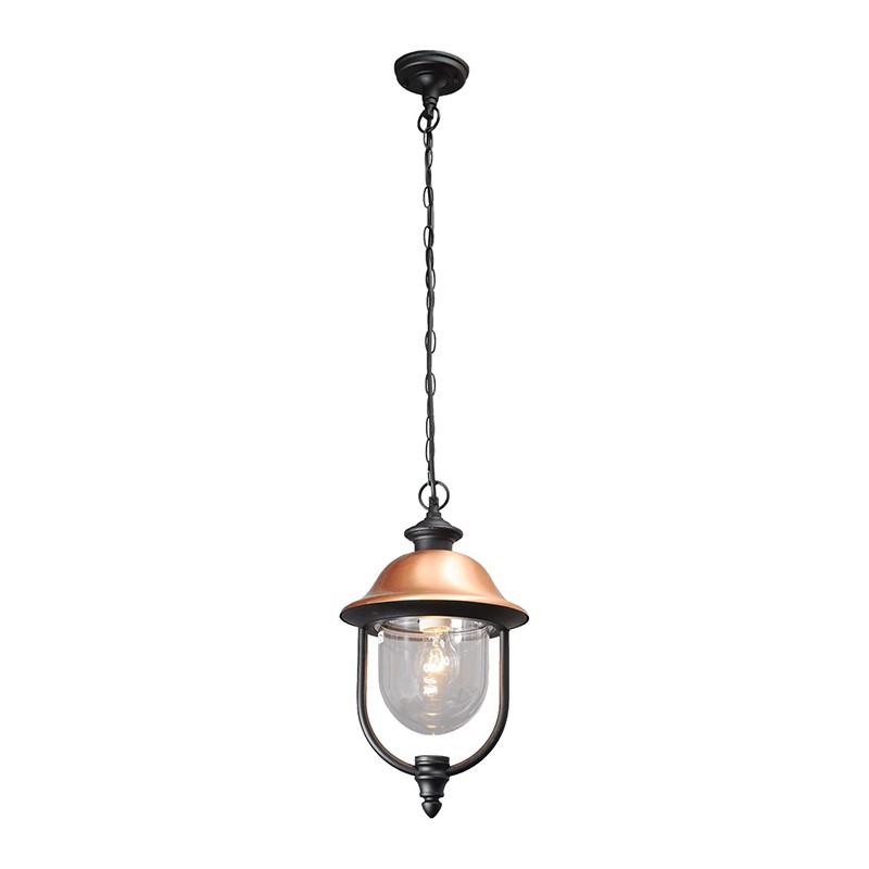 Lampe suspension ext rieur knox noir - Suspension d exterieur ...