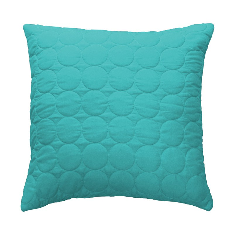 Housse de coussin candy 40x40cm turquoise for Housse de coussin turquoise