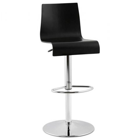 "Tabouret de Bar ""Fire"" Noir"