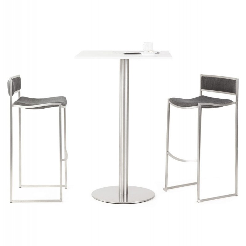 tabouret de bar osaka gris. Black Bedroom Furniture Sets. Home Design Ideas