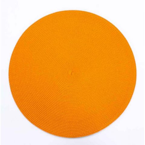 Set de Table Rond 38cm Orange