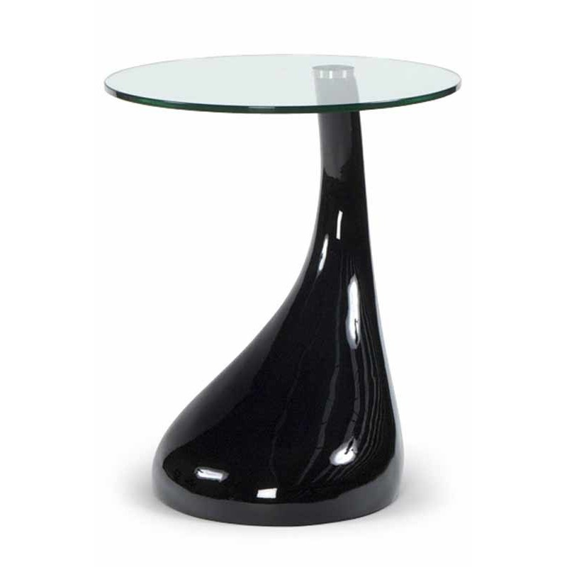 Table d 39 appoint design music noire - Table d appoint contemporaine ...