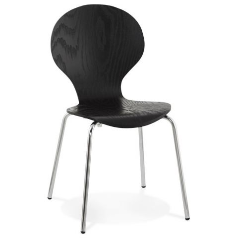 "Chaise Design ""Mania"" Noir"