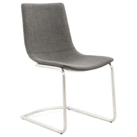"Chaise Design ""Jamie"" Gris"