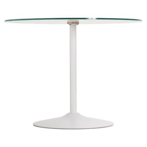 "Table d'Appoint Design ""Kizi"" Blanc"
