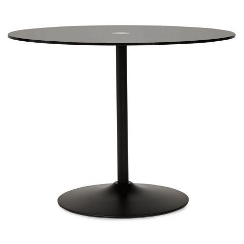 "Table d'Appoint Design ""Kizi"" Noir"