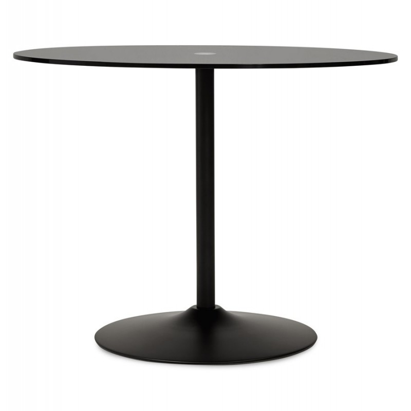 Table d 39 appoint design kizi noir - Table d appoint design ...