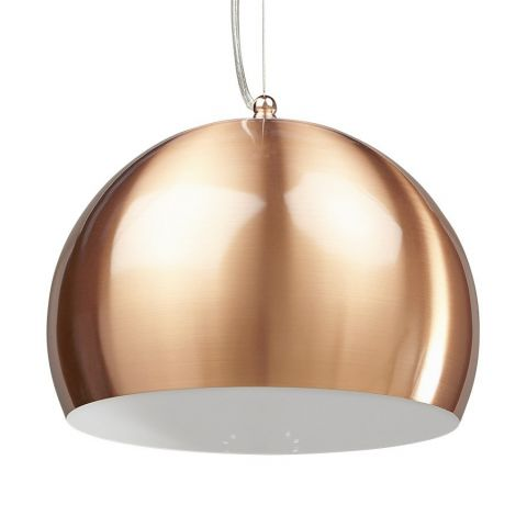 "Lampe Suspension ""Bulbo"" Cuivre"