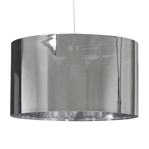 "Lampe Suspension ""Kadin"" Chrome"