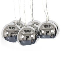 "Lampe Suspension ""Grappe"" Chrome"
