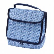 "Sac Isotherme Lunch ""Blue Wave"" 8L Bleu"