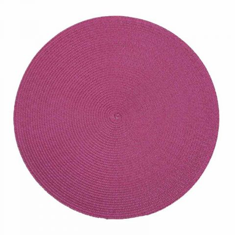 Set de Table Rond 38cm Prune