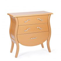 "Commode 3 Tiroirs ""Vivaldi"" Or"