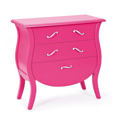 "Commode 3 Tiroirs ""Vivaldi"" Rose"