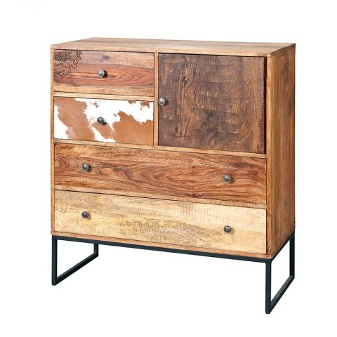 "Commode 4 Tiroirs ""San Antonio"" Naturel"