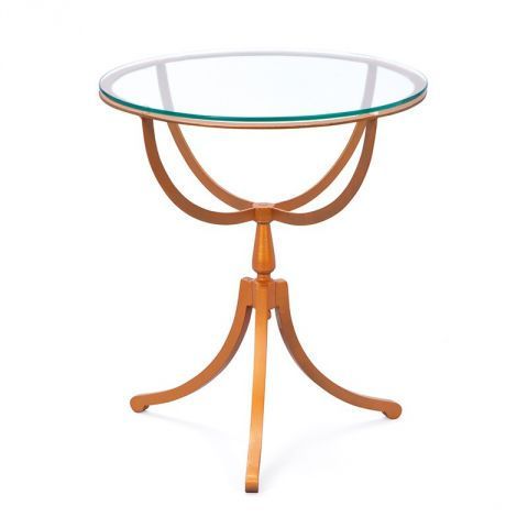 """Table d'Appoint """"Sonido"""" Cuivre"""
