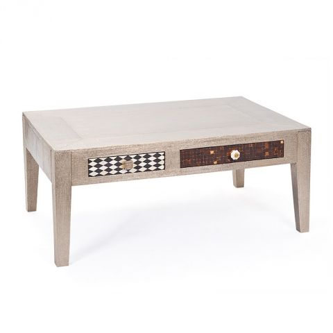 "Table Basse ""Aztek"" Gris"