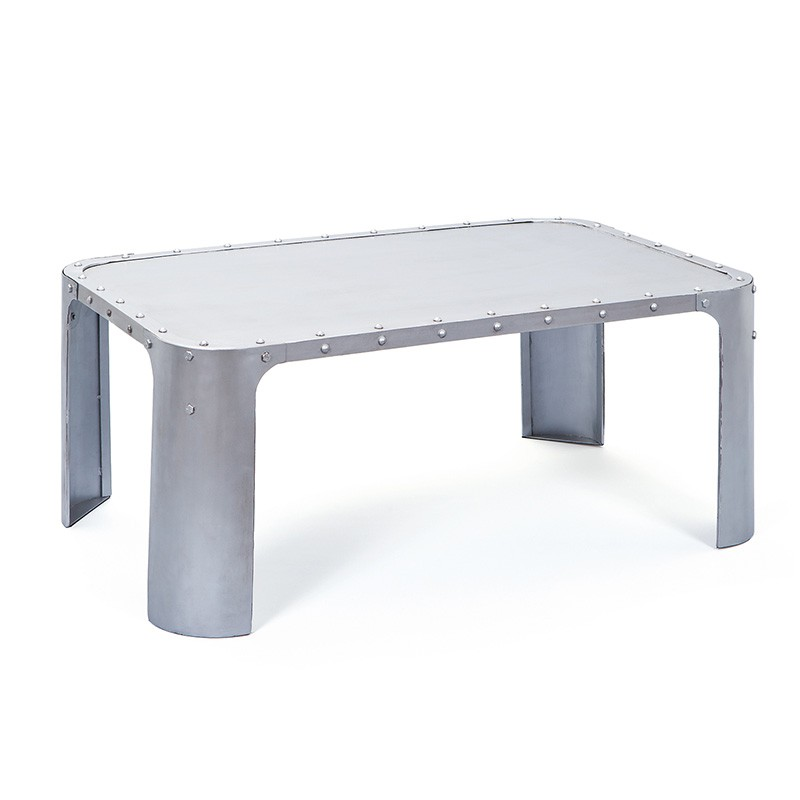table basse wall argent