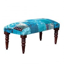 "Banquette ""Odie"" Turquoise"