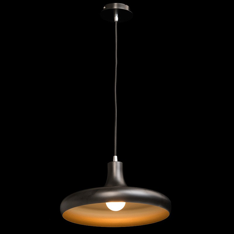 Lampe suspension m tal pool noir - Suspension metal noir ...