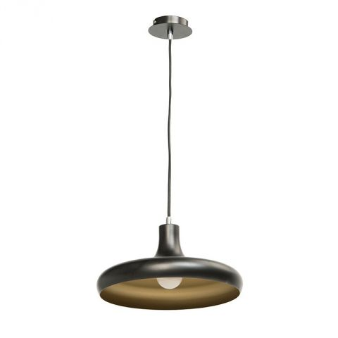 "Lampe Suspension Métal ""Pool"" Noir"
