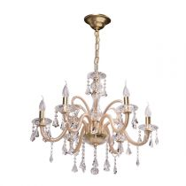 "Lustre Suspension Métal ""Sun"" Or"