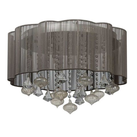 "Lampe Suspension ""Joly"" Gris"