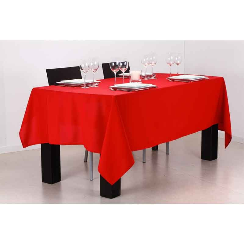 nappe anti t che 140x240cm rouge. Black Bedroom Furniture Sets. Home Design Ideas