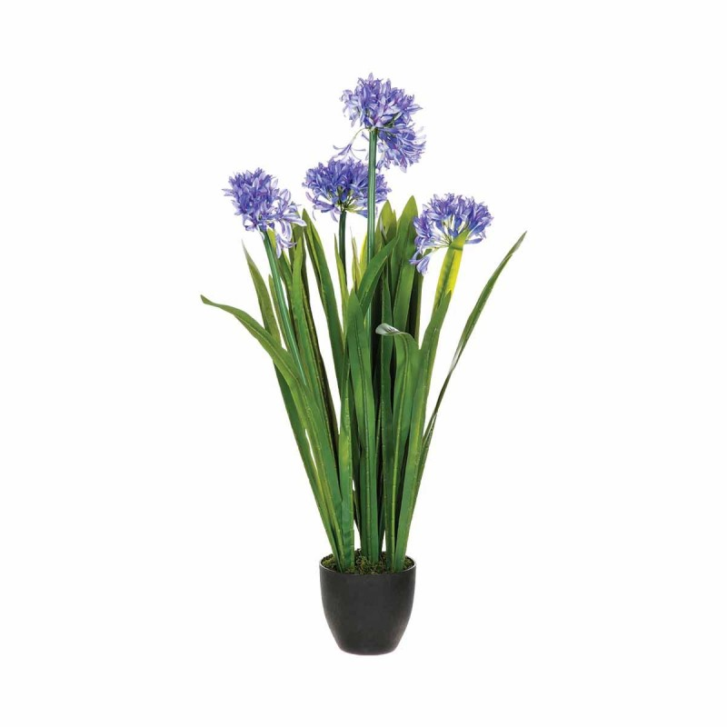 Plante artificielle 103cm agapanthe vert for Plante artificielle