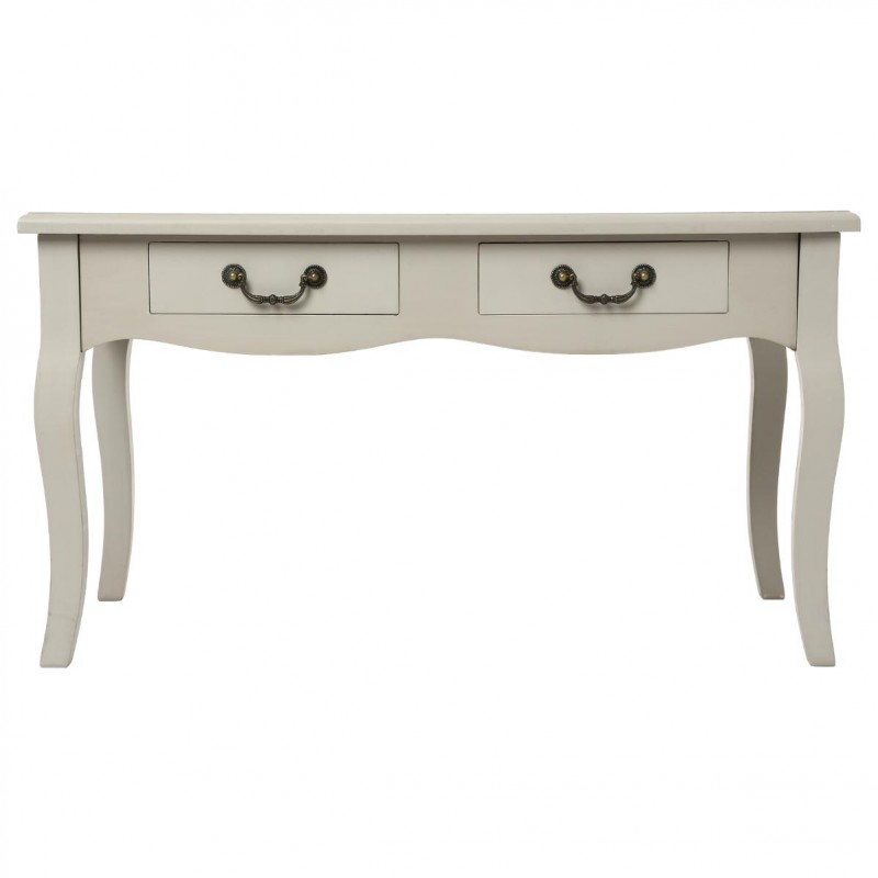 Table basse 4 tiroirs chrysa taupe for Table basse design 4 tiroirs