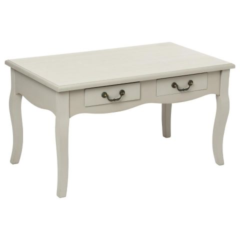 "Table Basse 4 Tiroirs ""Chrysa"" Taupe"