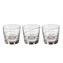 "Lot de 3 Gobelets en Verre ""In2One"" 33cl Transparent"
