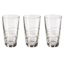 "Lot de 3 Verres ""In2One"" 40cl Transparent"