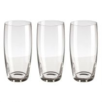 "Lot de 3 Verres "" Style"" 44cl Transparent"