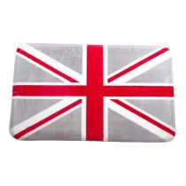 "Tapis ""Printe London"" 50x80cm Gris"