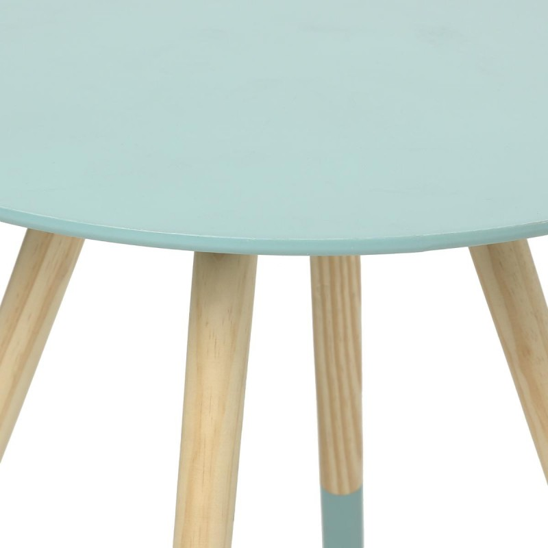Table d 39 appoint design mileo 48cm bleu - Table d appoint design ...