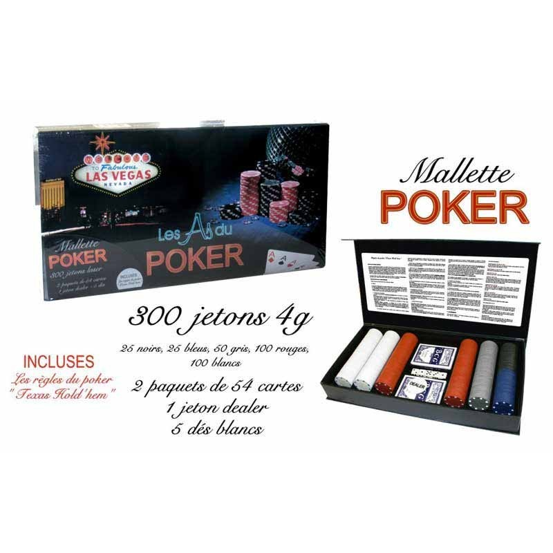 Mallette jetons poker