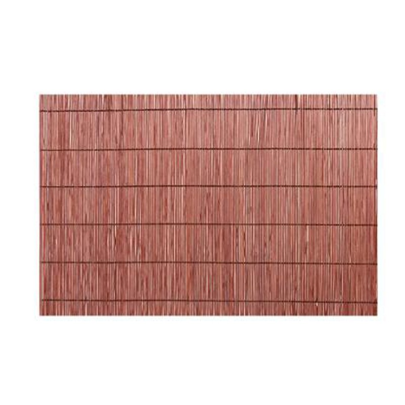 Set de table bambou 30x45cm marron for Set de table en bambou