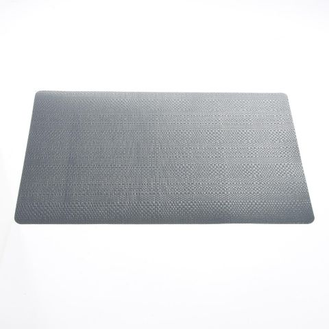 "Set de Table ""Relief Natural"" 43x28cm Gris"