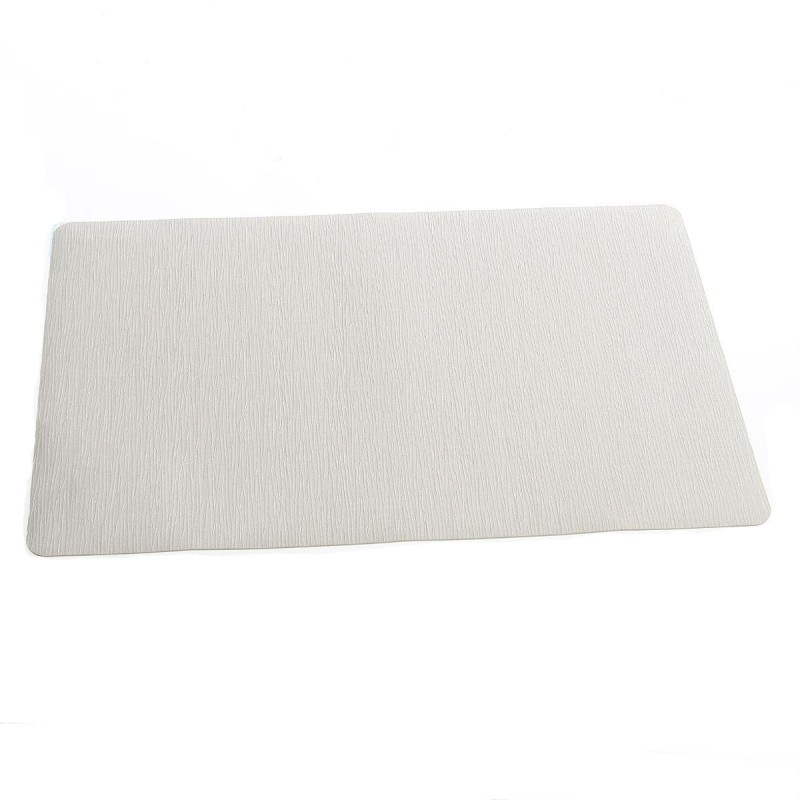 Set De Table Rectangulaire 43x28cm Gris Clair
