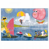 "Tapis Arte Espina ""Kids Holiday"" Multicolore"