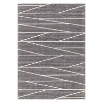 "Tapis Arte Espina ""Optical Art"" Gris & Blanc"