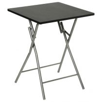 "Table Pliante 75cm ""Basic"" Noir"