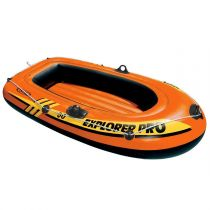 "Bateau Gonflable 1 Place ""Explorer Pro"" Orange"