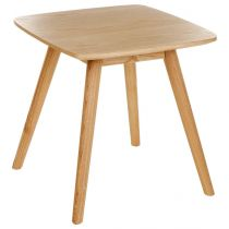 "Table d'Appoint ""Lerka"" 50cm Naturel"