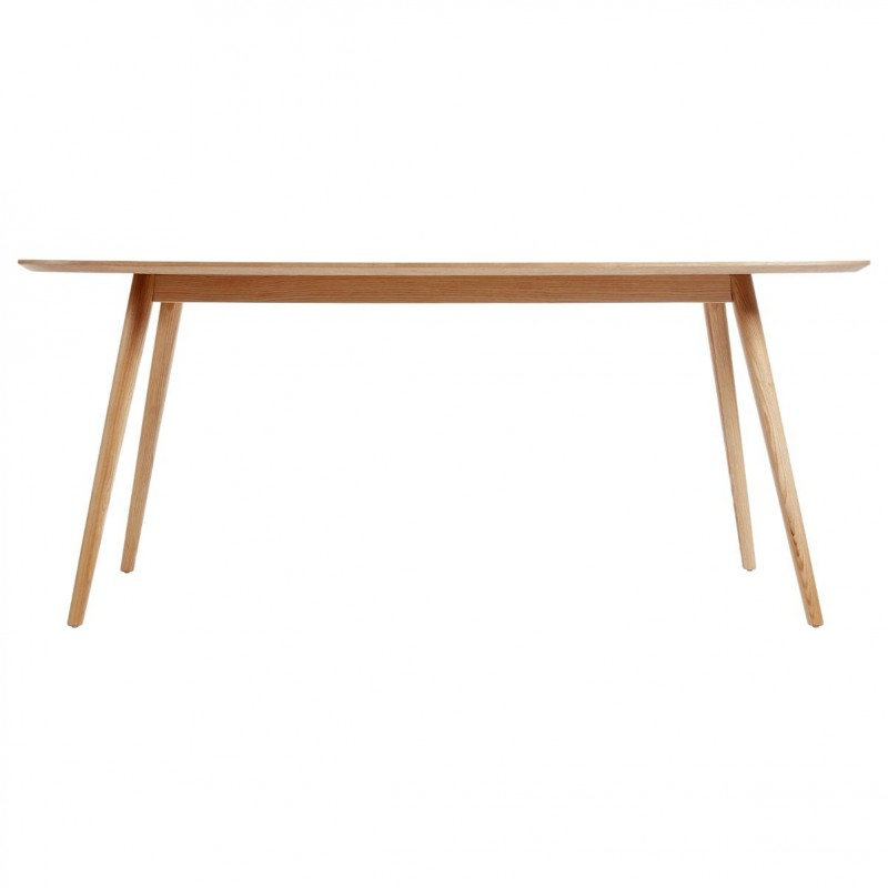 Table de salle manger lerka 180cm naturel for Table de salle a manger 240 cm