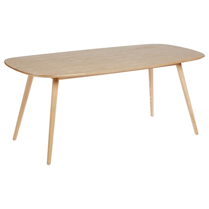 Table de salle manger lerka 180cm naturel for Table de salle a manger 85 cm