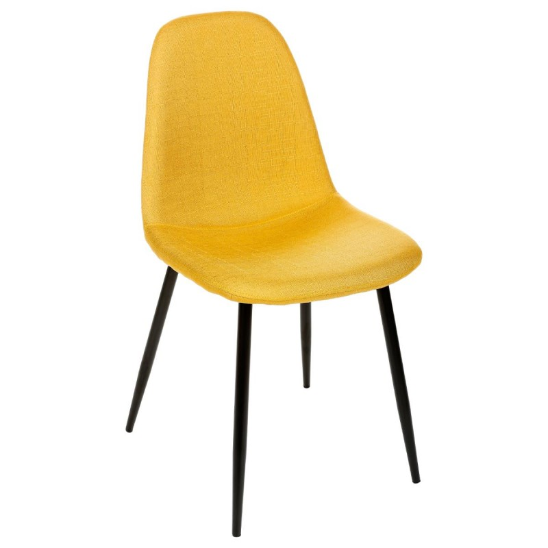 Chaise design nokas jaune for Chaise jaune design