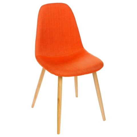 "Chaise Design ""Nokas"" Orange"